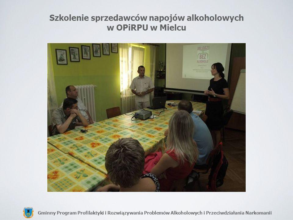Szkolenie sprzedawców napojów alkoholowych w OPiRPU w Mielcu