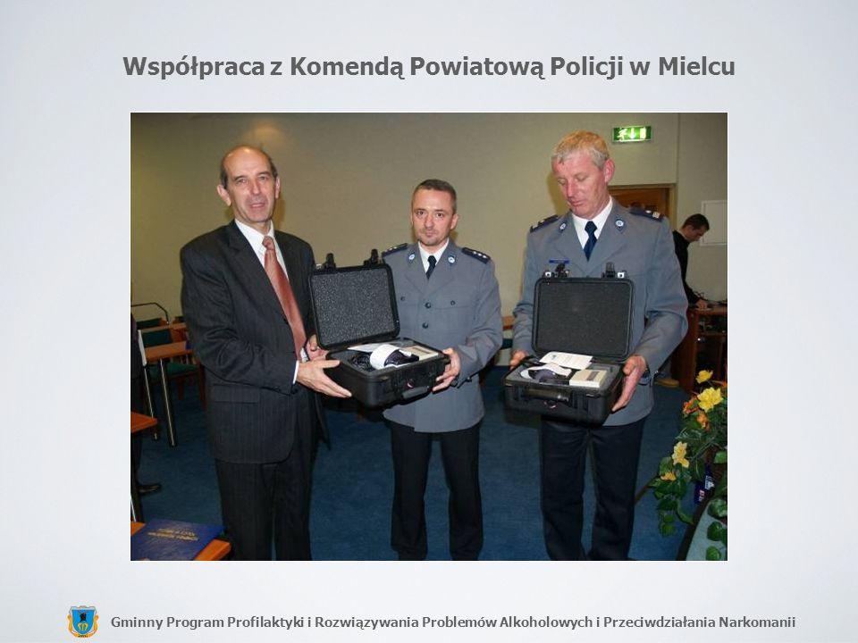 Współpraca z Komendą Powiatową Policji w Mielcu