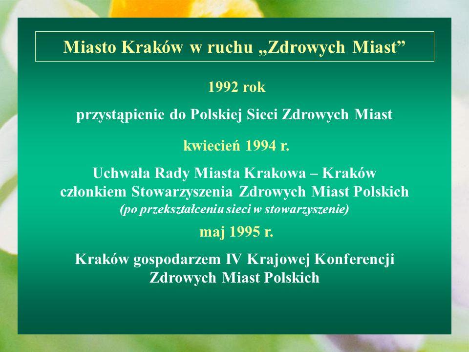 """Miasto Kraków w ruchu """"Zdrowych Miast"""