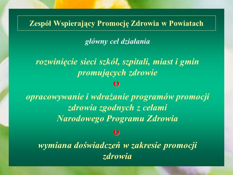 Zespół Wspierający Promocję Zdrowia w Powiatach