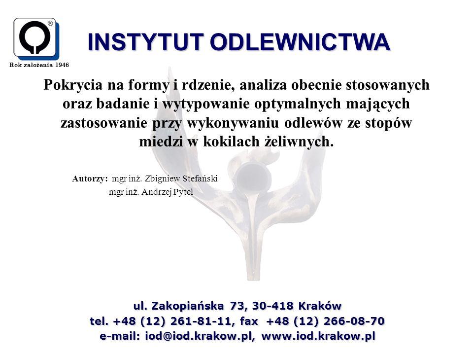 Autorzy: mgr inż. Zbigniew Stefański mgr inż. Andrzej Pytel