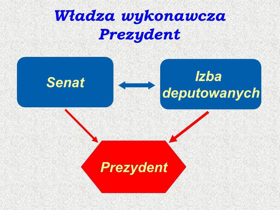 Władza wykonawcza Prezydent