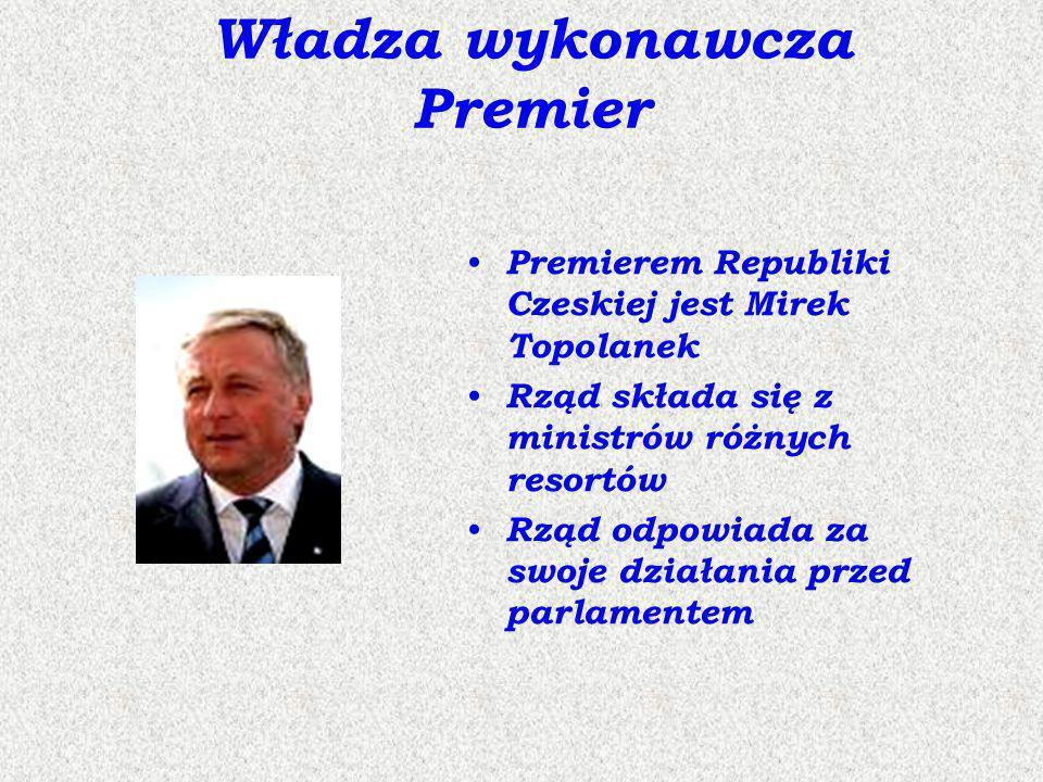 Władza wykonawcza Premier