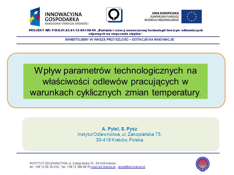 Instytut Odlewnictwa, ul. Zakopiańska 73,