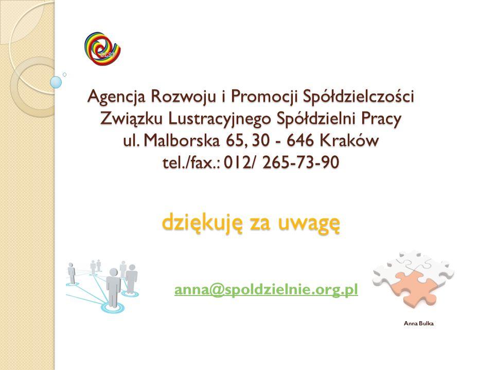 anna@spoldzielnie.org.pl Anna Bulka
