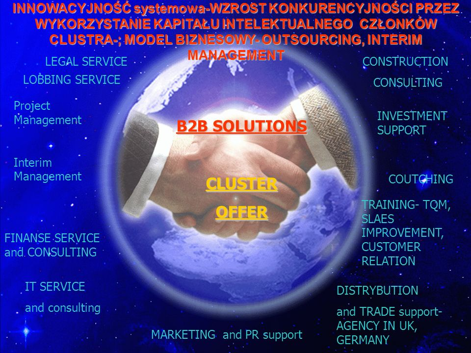 B2B SOLUTIONS CLUSTER OFFER
