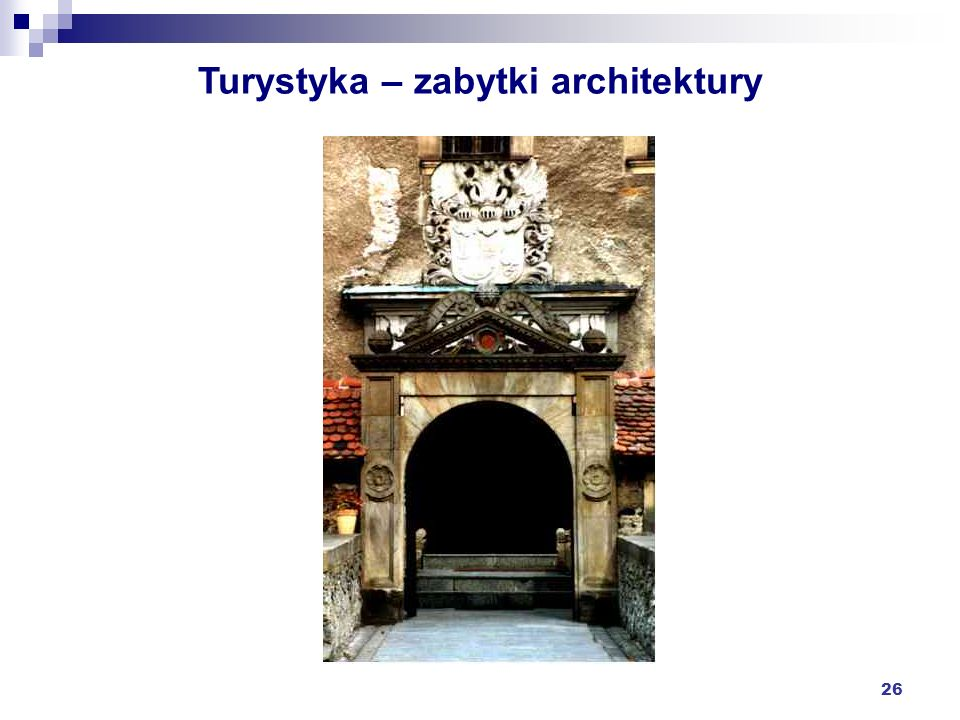 Turystyka – zabytki architektury