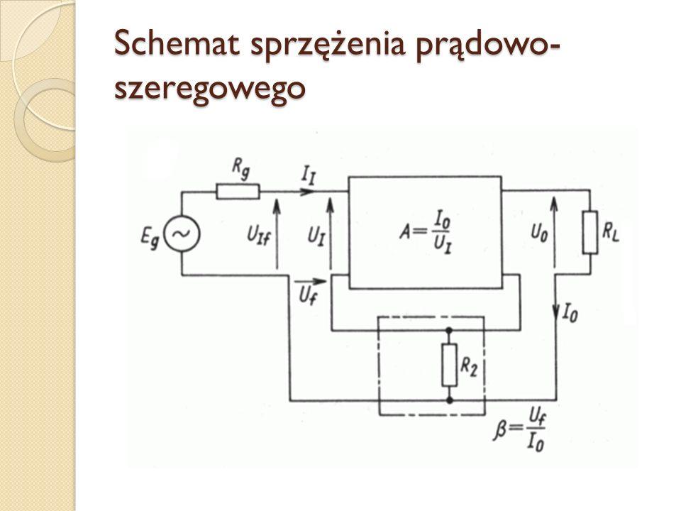 Schemat sprzężenia prądowo-szeregowego