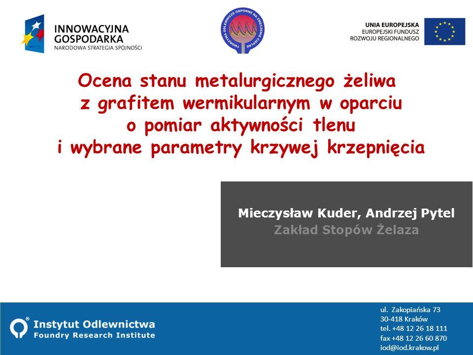 Mieczysław Kuder, Andrzej Pytel Zakład Stopów Żelaza
