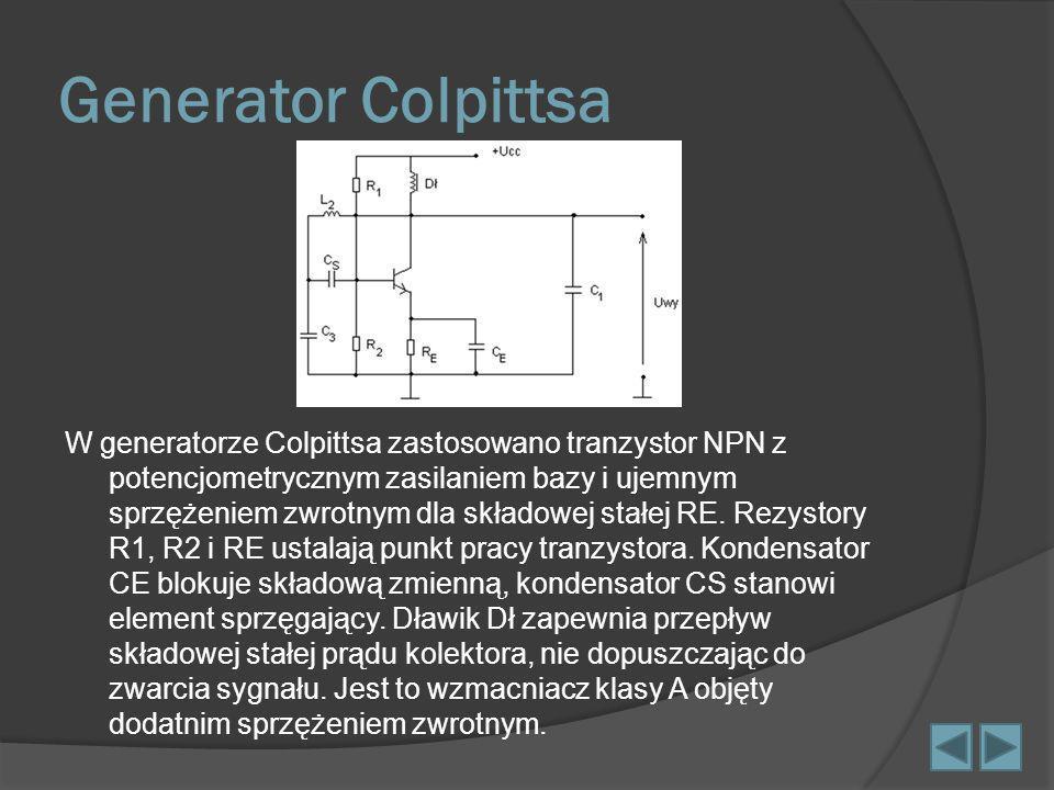 Generator Colpittsa