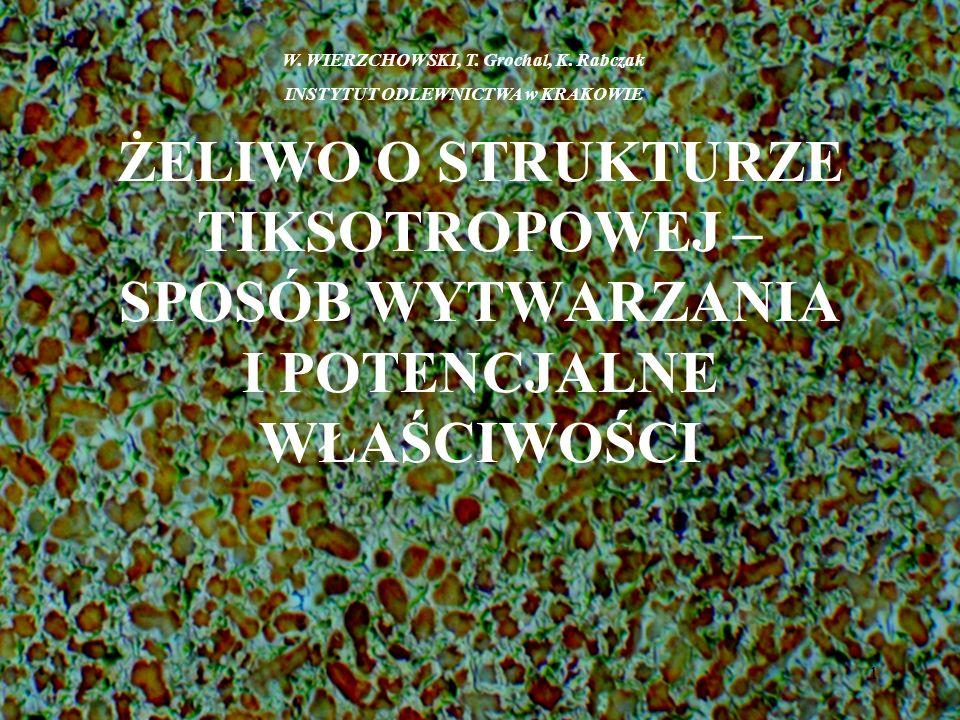 W. WIERZCHOWSKI, T. Grochal, K. Rabczak