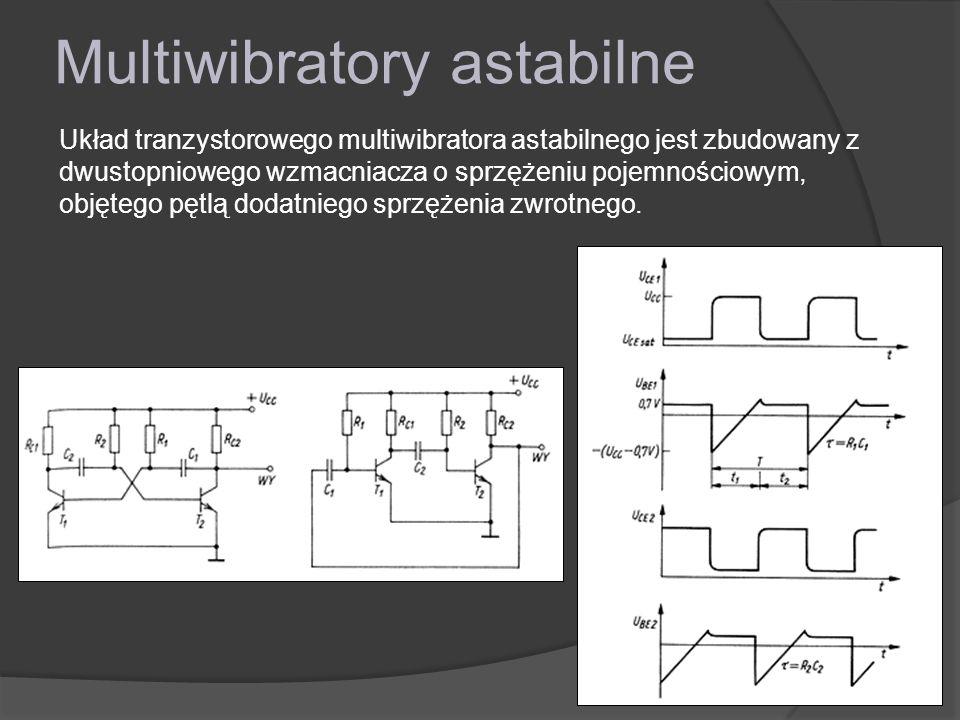 Multiwibratory astabilne