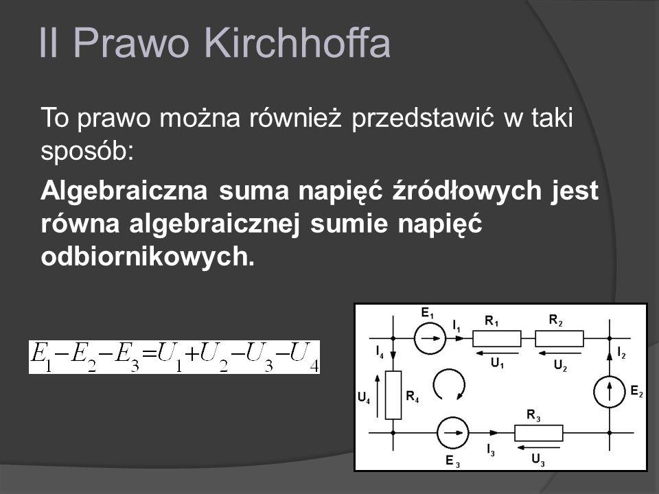 II Prawo Kirchhoffa