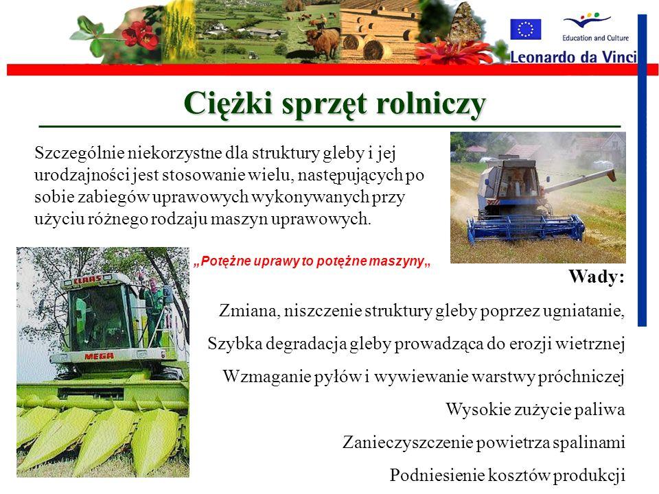 Ciężki sprzęt rolniczy