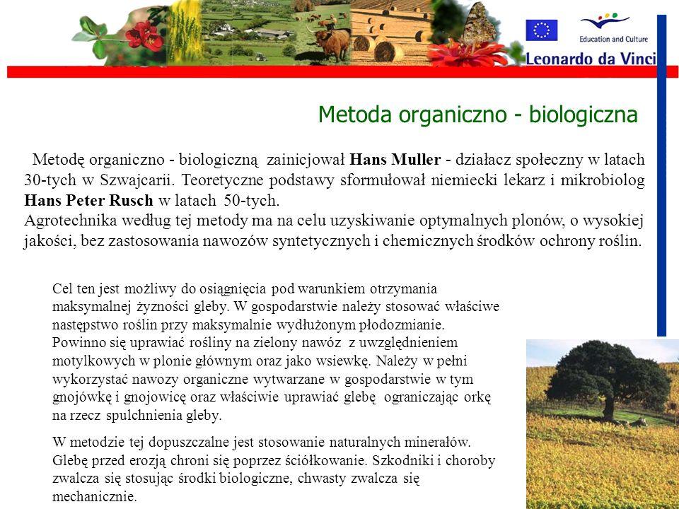 Metoda organiczno - biologiczna
