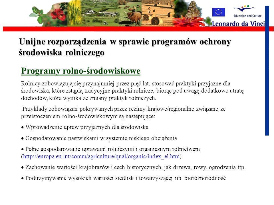 Programy rolno-środowiskowe