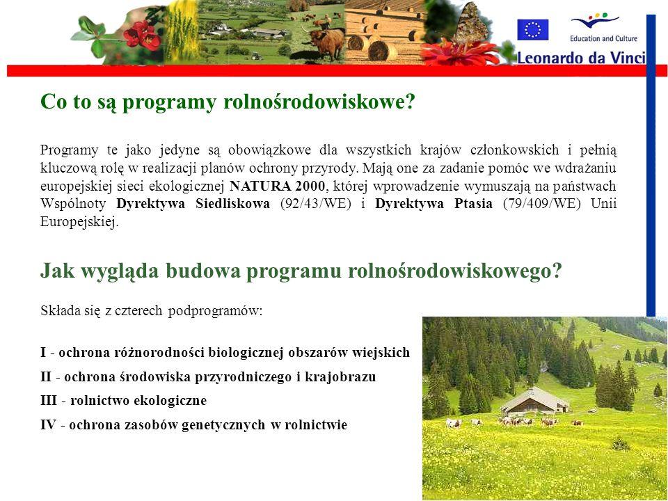 Co to są programy rolnośrodowiskowe