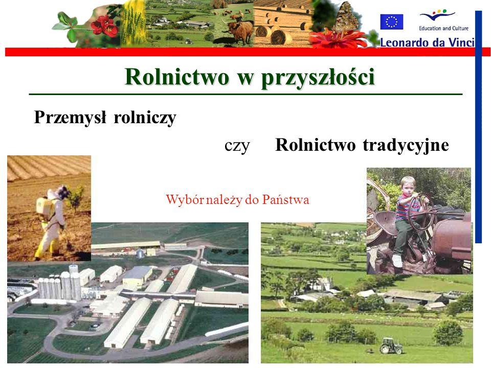 Rolnictwo w przyszłości