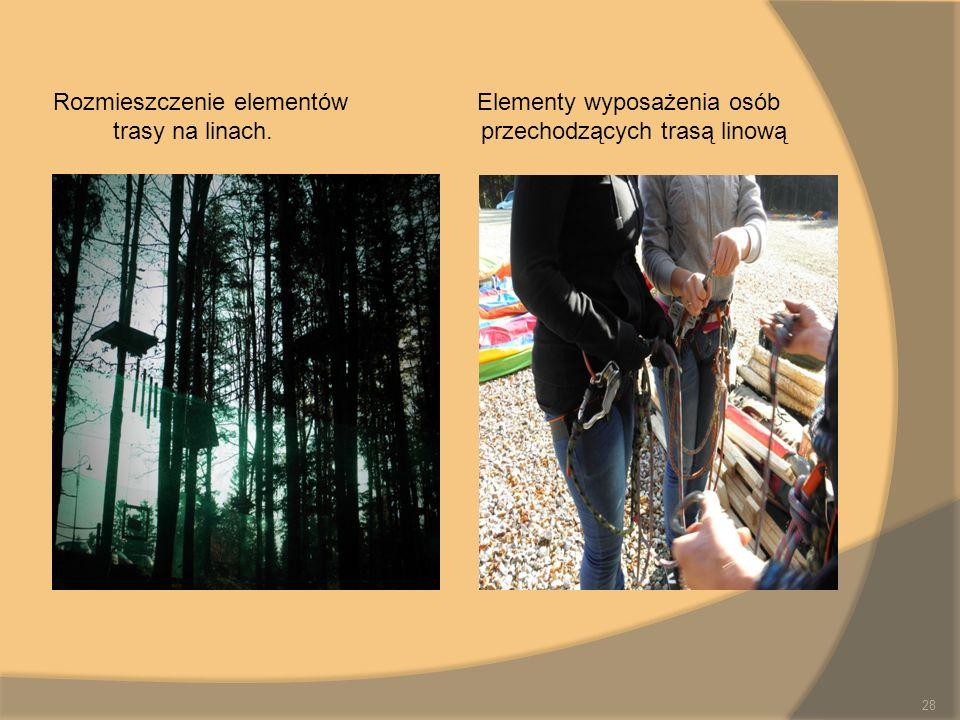 Rozmieszczenie elementów Elementy wyposażenia osób
