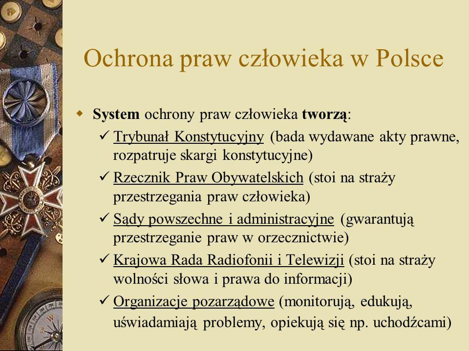 Ochrona praw człowieka w Polsce