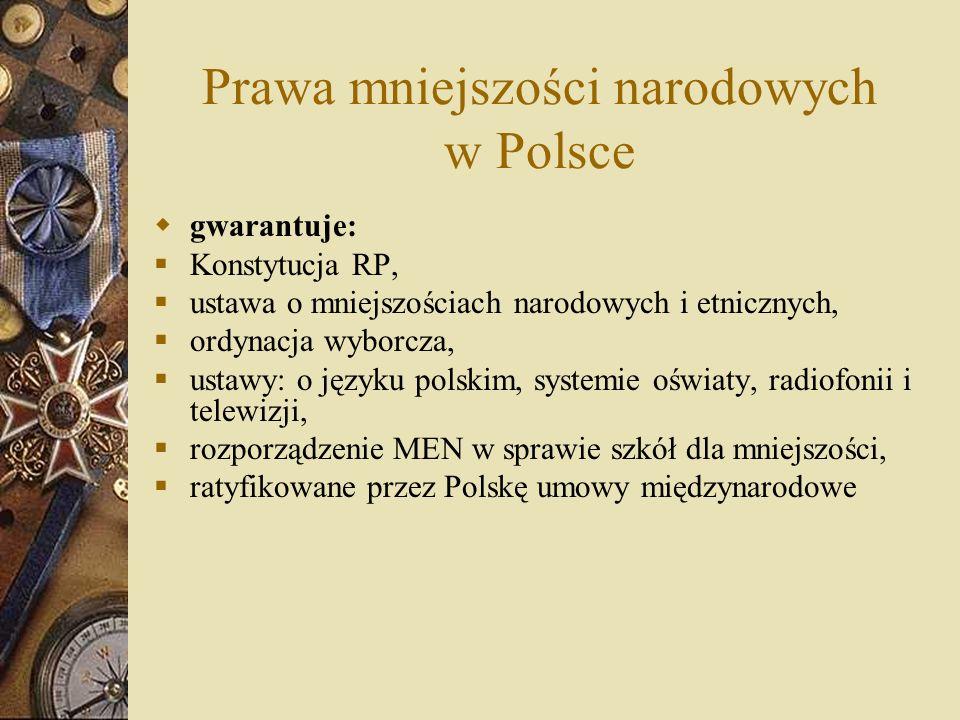 Prawa mniejszości narodowych w Polsce