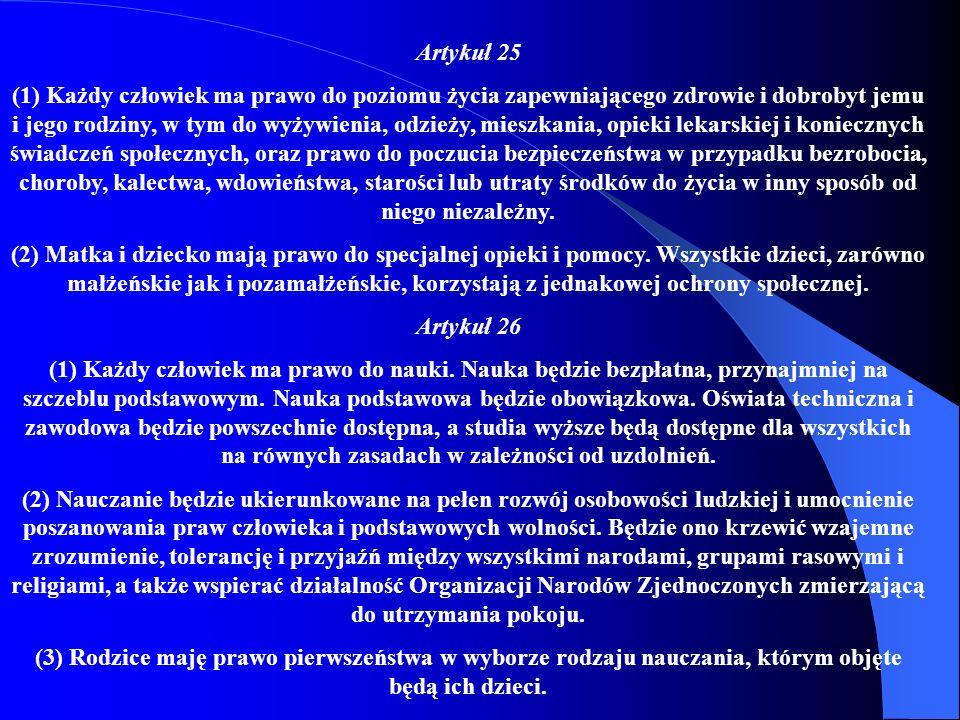 Artykuł 25