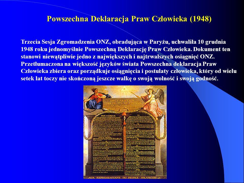 Powszechna Deklaracja Praw Człowieka (1948)