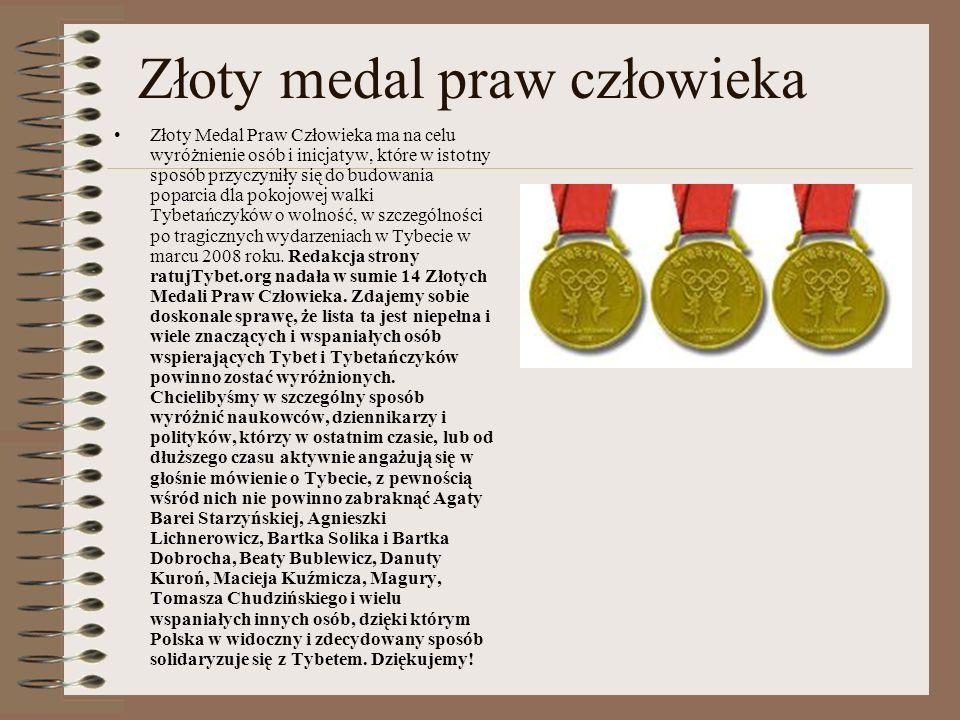 Złoty medal praw człowieka