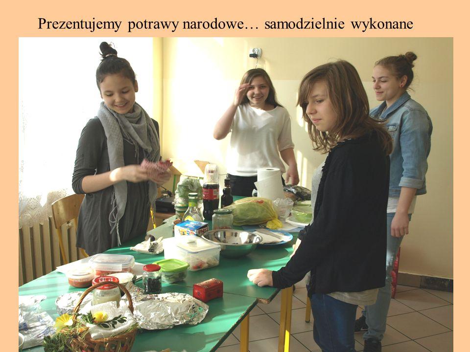 Prezentujemy potrawy narodowe… samodzielnie wykonane