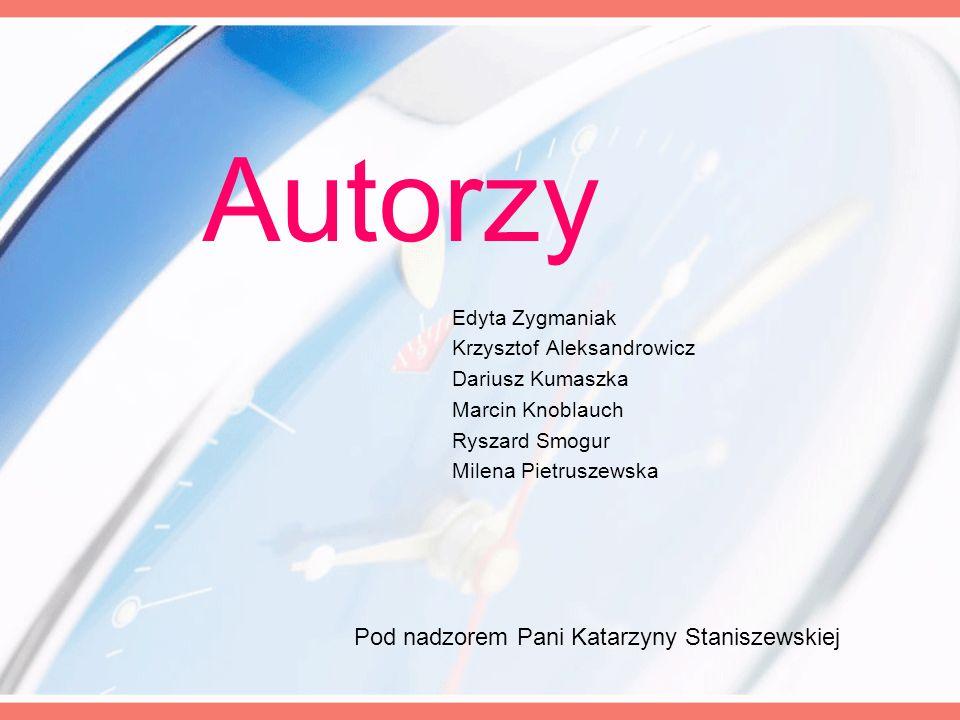Pod nadzorem Pani Katarzyny Staniszewskiej