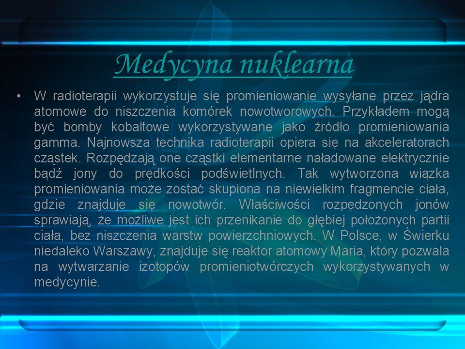 Medycyna nuklearna