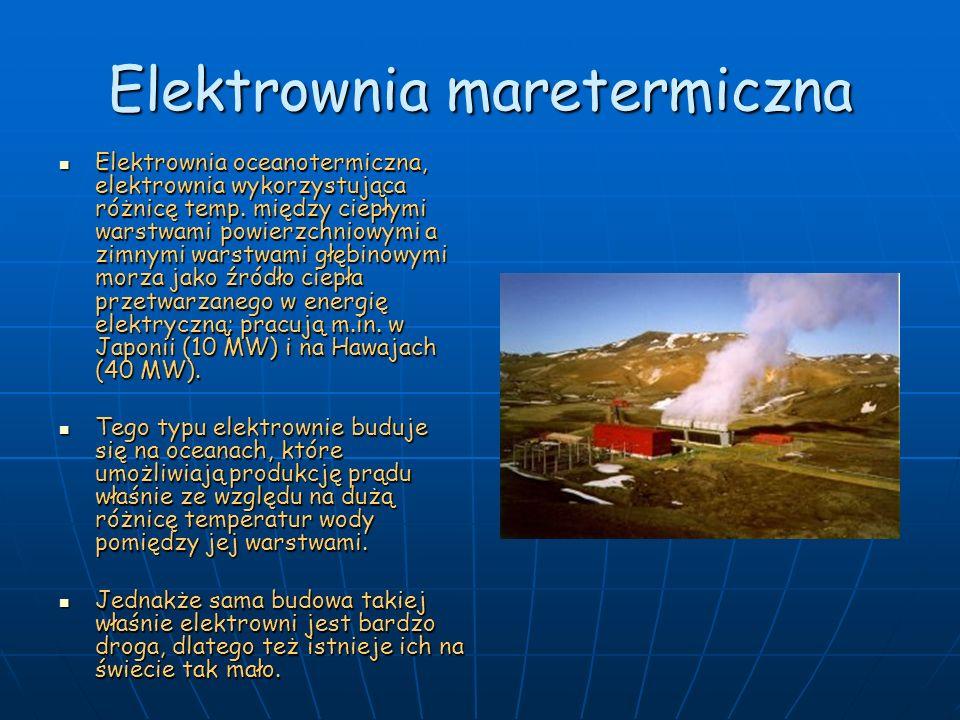 Elektrownia maretermiczna