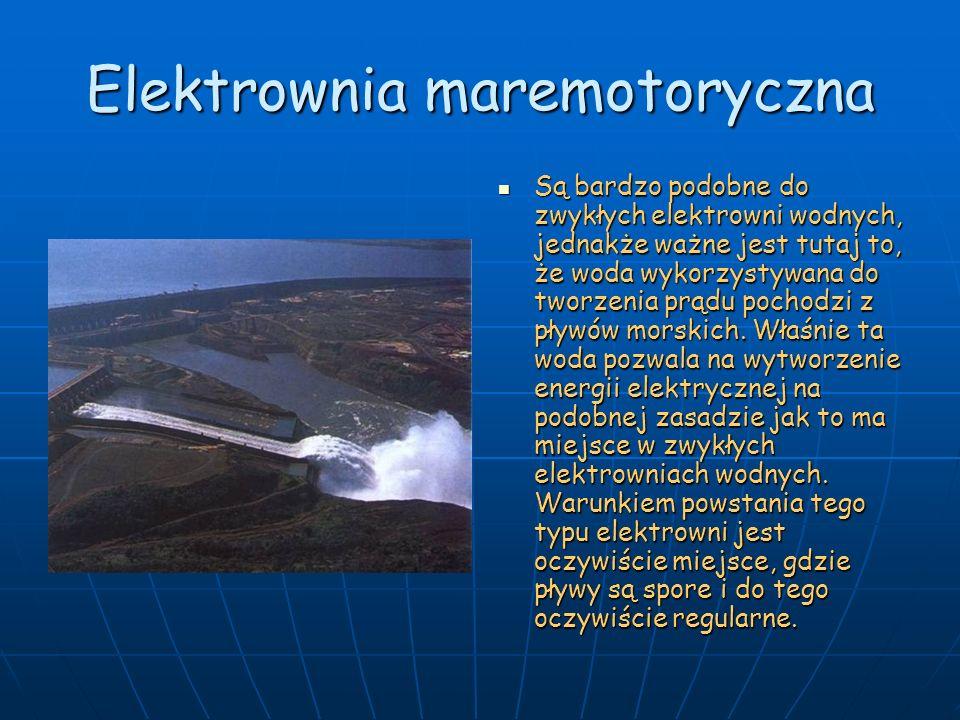 Elektrownia maremotoryczna