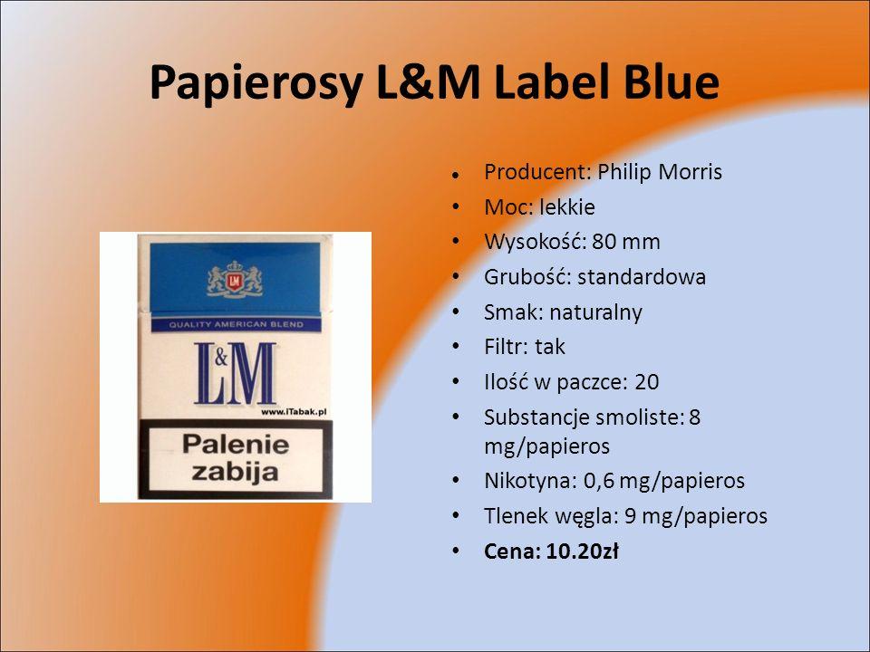 Papierosy L&M Label Blue