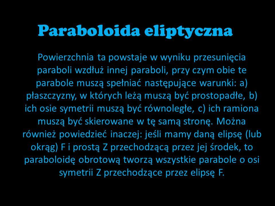 Paraboloida eliptyczna