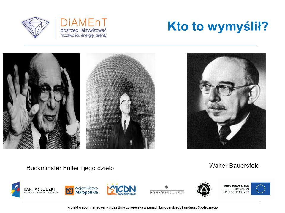 Kto to wymyślił Walter Bauersfeld Buckminster Fuller i jego dzieło 4