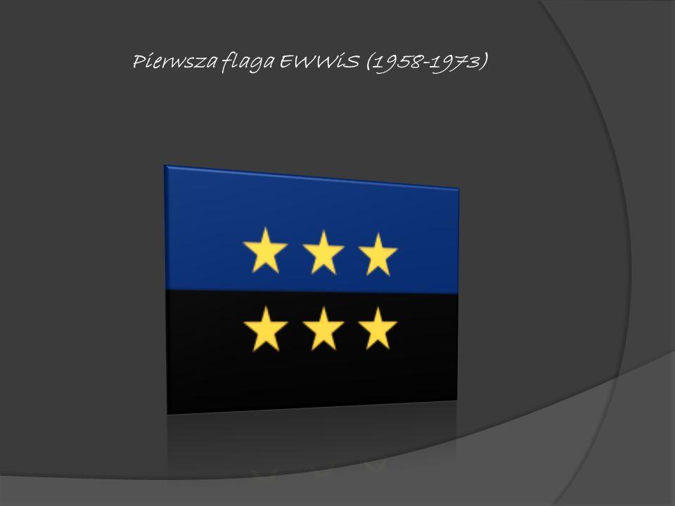 Pierwsza flaga EWWiS (1958-1973)