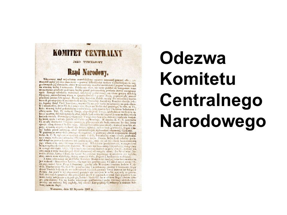 Odezwa Komitetu Centralnego Narodowego