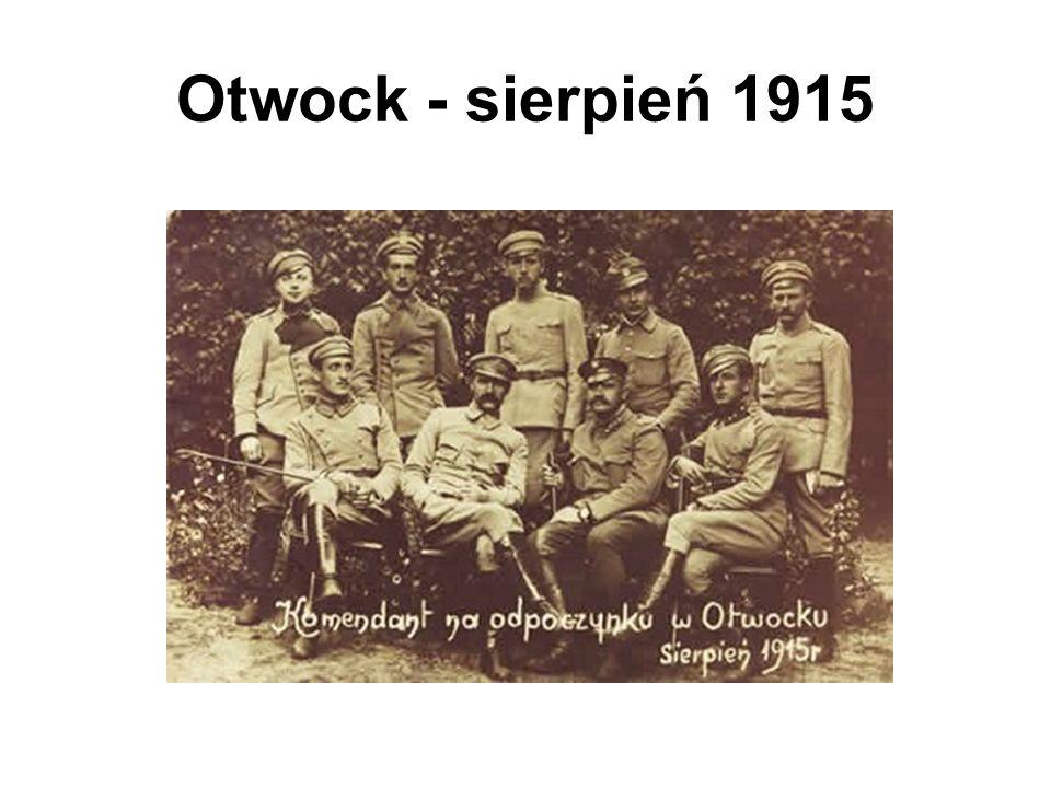 Otwock - sierpień 1915