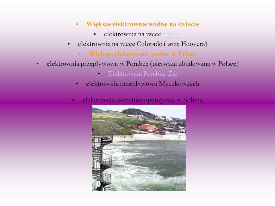 Większe elektrownie wodne na świecie elektrownia na rzece Parana