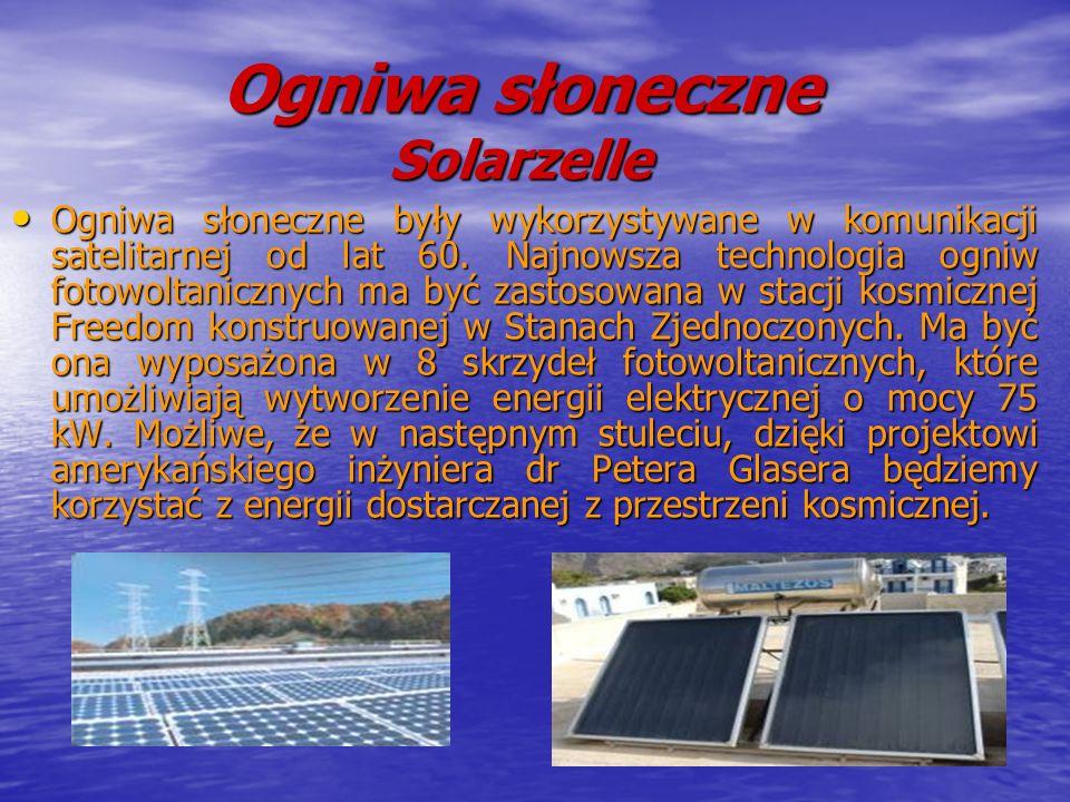 Ogniwa słoneczne Solarzelle