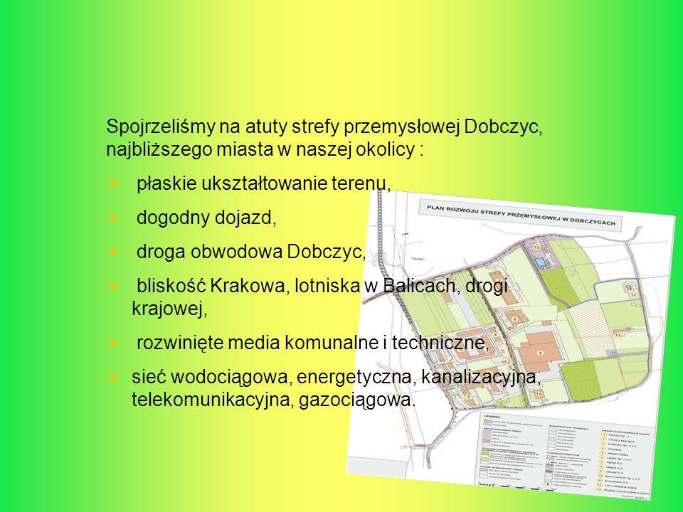 Spojrzeliśmy na atuty strefy przemysłowej Dobczyc, najbliższego miasta w naszej okolicy :
