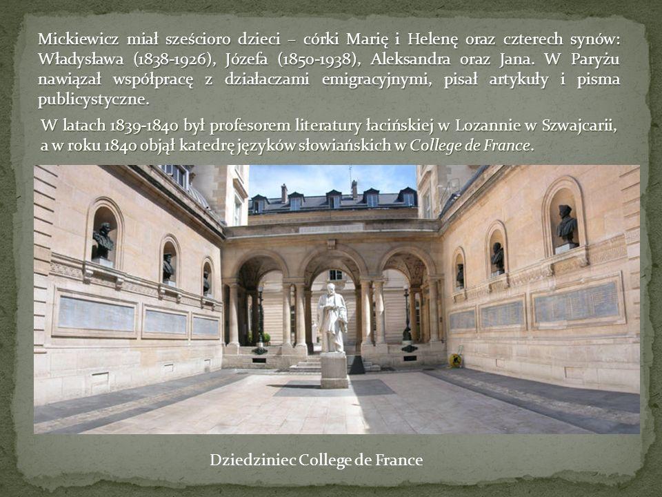 Dziedziniec College de France