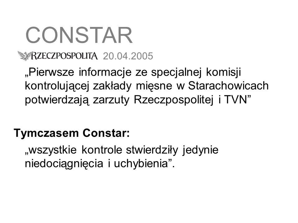 CONSTAR 20.04.2005.