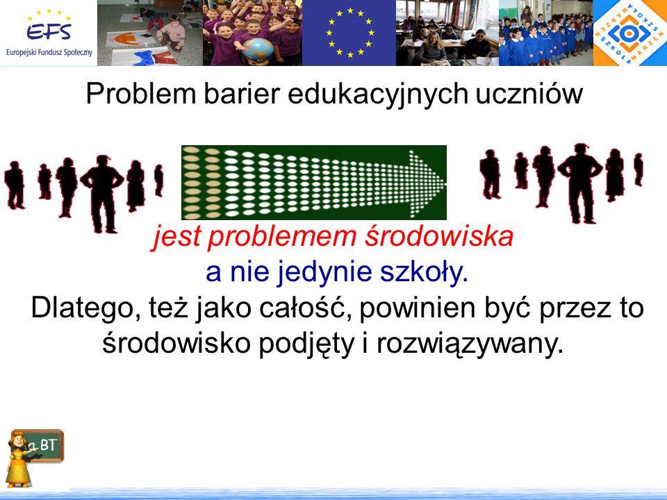 Problem barier edukacyjnych uczniów szkół wiejskich