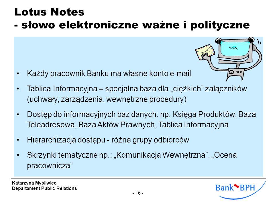 - słowo elektroniczne ważne i polityczne