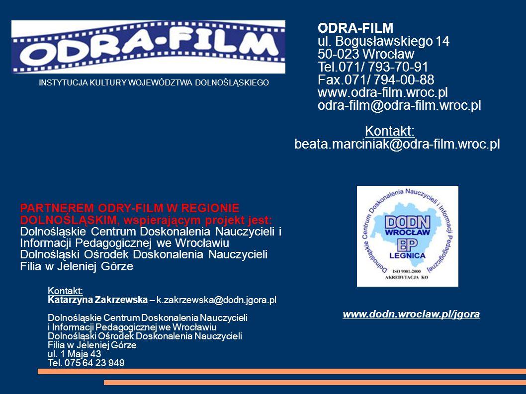 ODRA-FILM ul. Bogusławskiego 14 50-023 Wrocław Tel.071/ 793-70-91