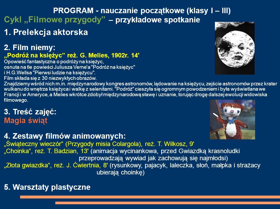 PROGRAM - nauczanie początkowe (klasy I – III)