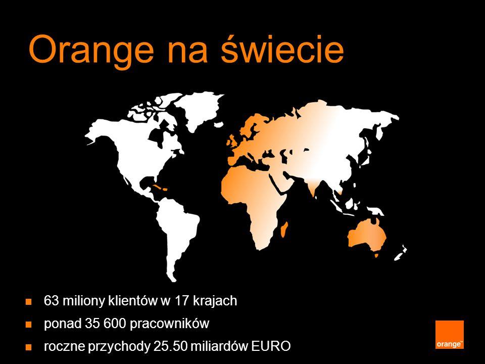Orange na świecie 63 miliony klientów w 17 krajach