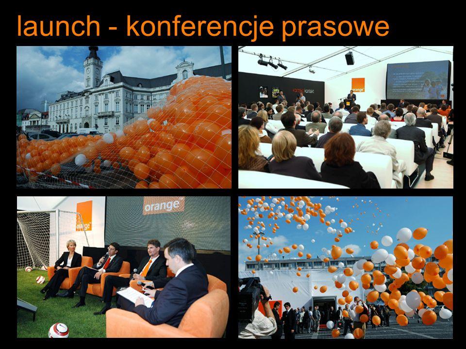 launch - konferencje prasowe
